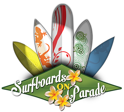 surfboards on parade