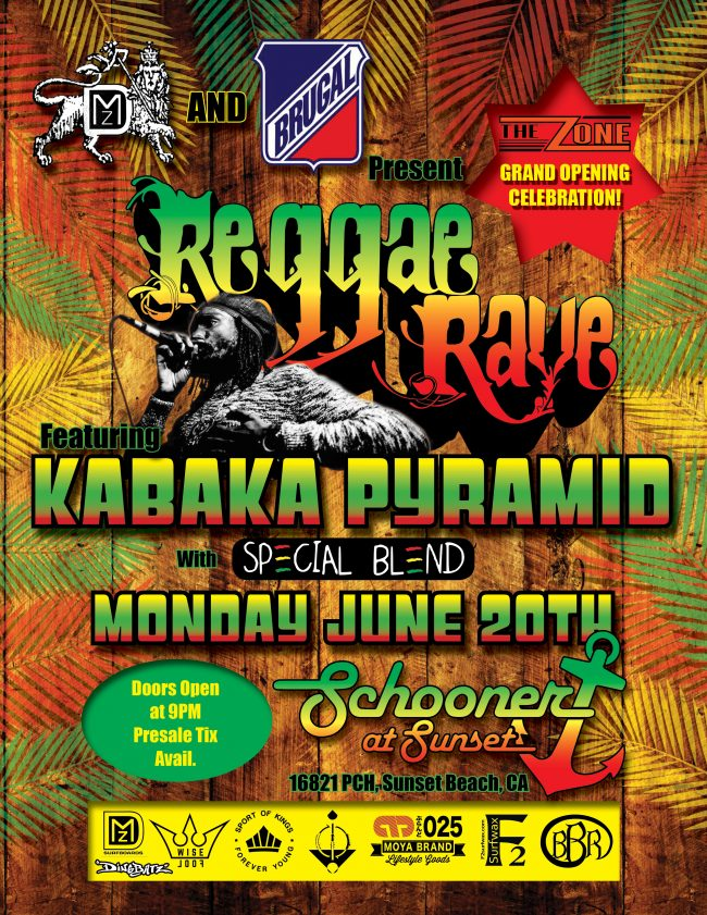 Reggae Rave Flyer R3